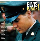 Elvis Is Back! - 33 RPM Vinyl Not Now Music Label - Alternate Cover