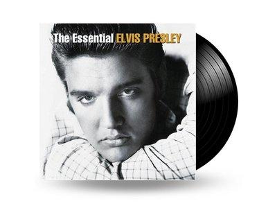 The Essential Elvis Presley - 33 RPM Vinyl RCA Label