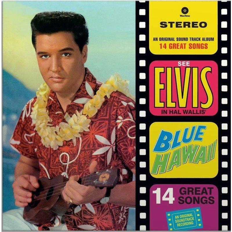 Elvis Presley Blue Hawaii - 33 RPM Vinyl Wax Time Label