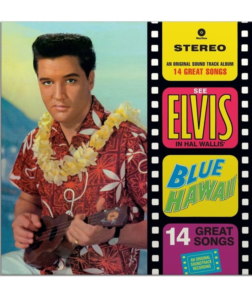 Elvis Presley Blue Hawaii - 33 RPM Vinyl Wax Time Label