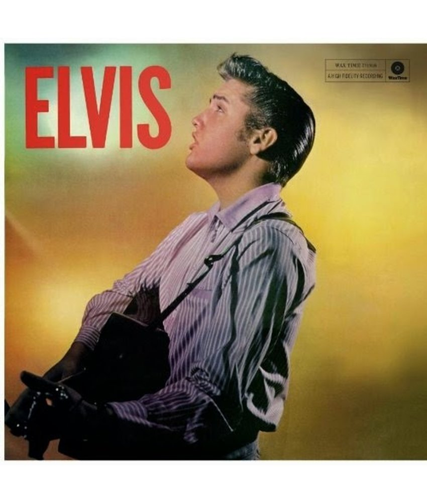 Elvis Presley Elvis (Second Album) - 33 RPM Vinyl Wax Time Label