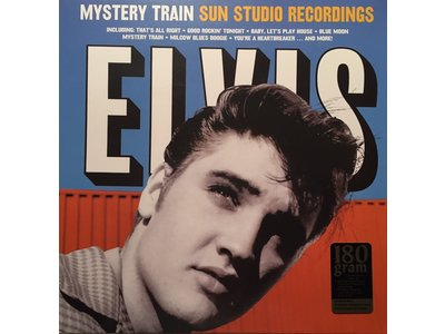 Elvis Presley Mystery Train Sun Studio Recordings - 33 RPM Vinyl Wax Time Label