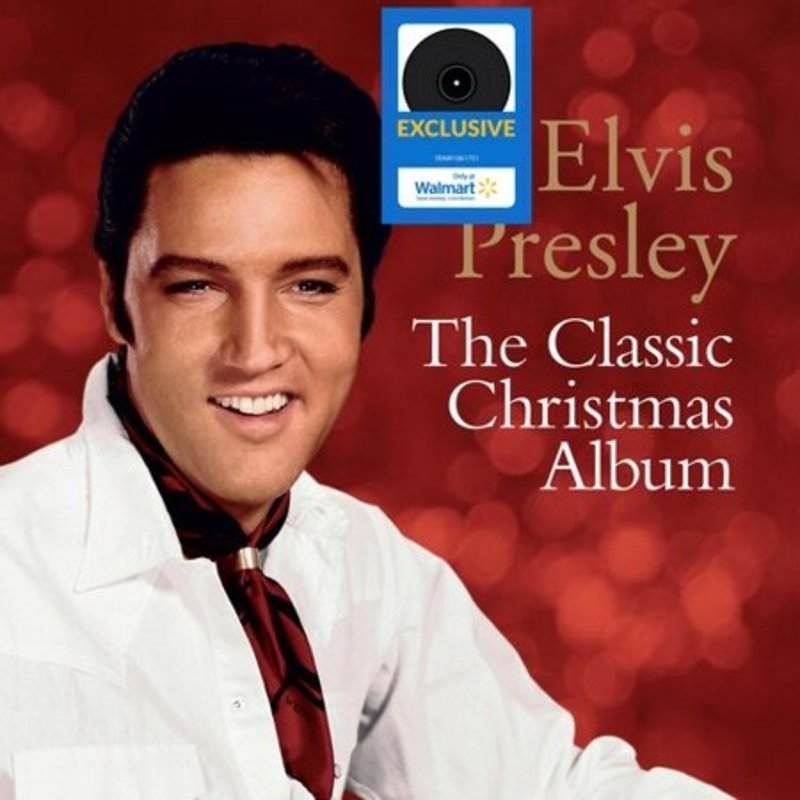 Elvis Presley - The Classic Christmas Album - Walmart Exclusive Release On Vinyl