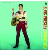 Elvis Presley In Loving You - 33 RPM Vinyl Wax Time Label - Alternate Cover