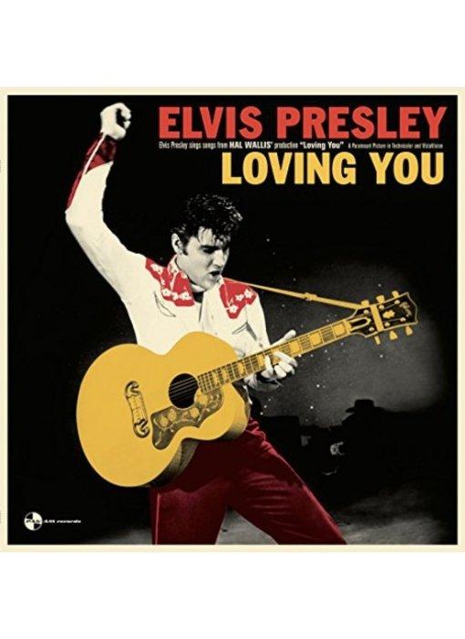 Elvis Presley In Loving You - 33 RPM Vinyl Panam Records Label - Alternate Cover