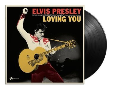 Elvis Presley In Loving You - 33 RPM Vinyl Panam Records Label - Alternate Cover