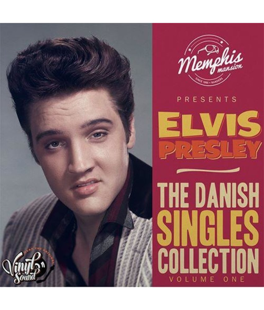 Elvis Presley - The Danish Singles Collection Volume One - Clear Vinyl Memphis Mansion Label