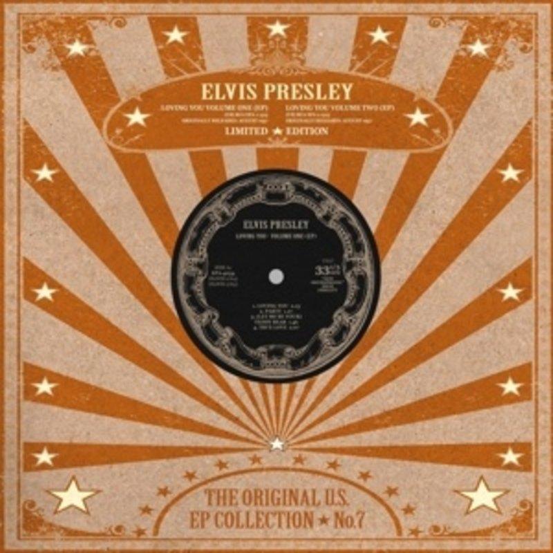 Elvis Presley - The Original U.S. EP Collection No. 7 - White Vinyl
