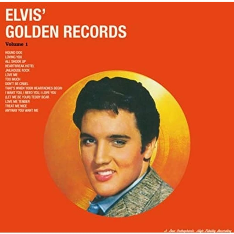 Elvis' Golden Records Vol. 1 - 33 RPM Vinyl Vinyl Lovers Label