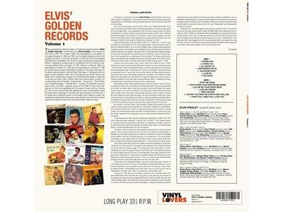 Elvis' Golden Records Vol. 1 - 33 RPM Vinyl Vinyl Lovers Label