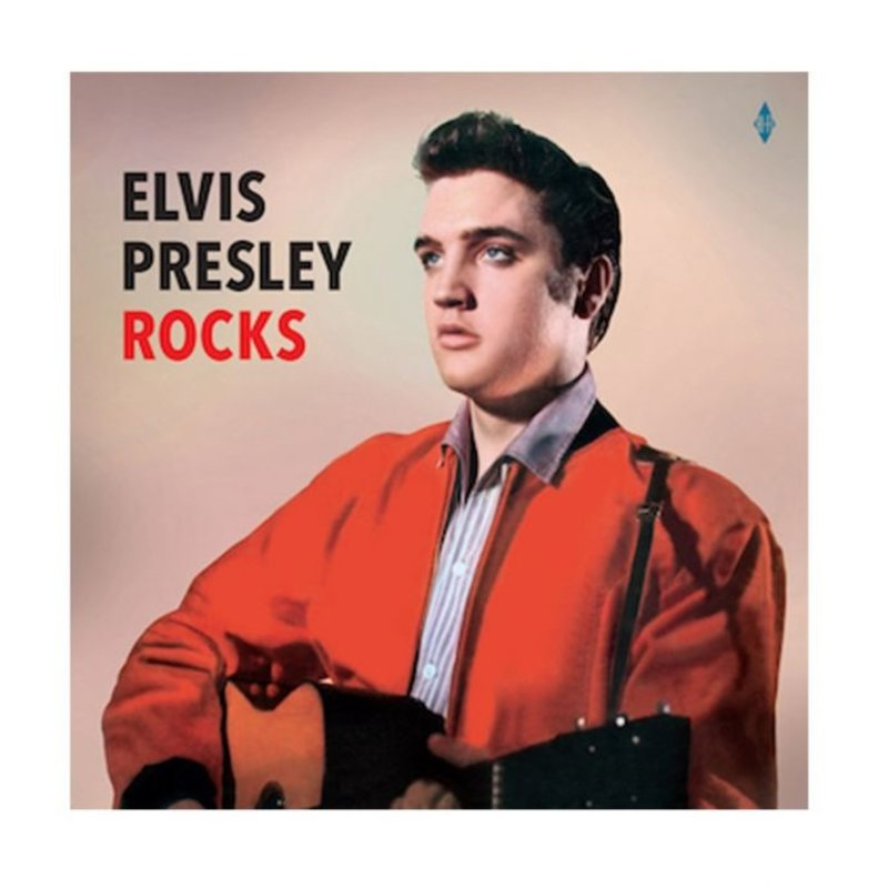 Elvis Presley Rocks - 33 RPM Vinyl Vinyl Lovers Label