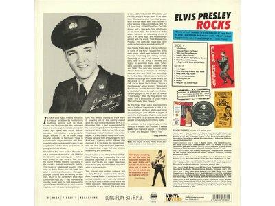 Elvis Presley Rocks - 33 RPM Vinyl Vinyl Lovers Label