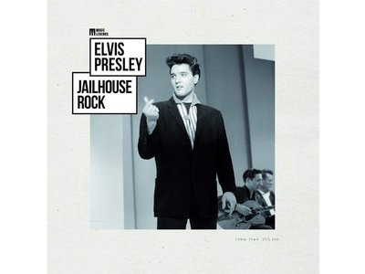Elvis Presley Jailhouse Rock - 33 RPM Vinyl Music Legends Label