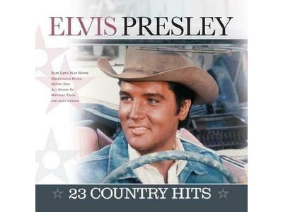 Elvis Presley 23 Country Hits - 33 RPM Vinyl Vinyl Passion Label