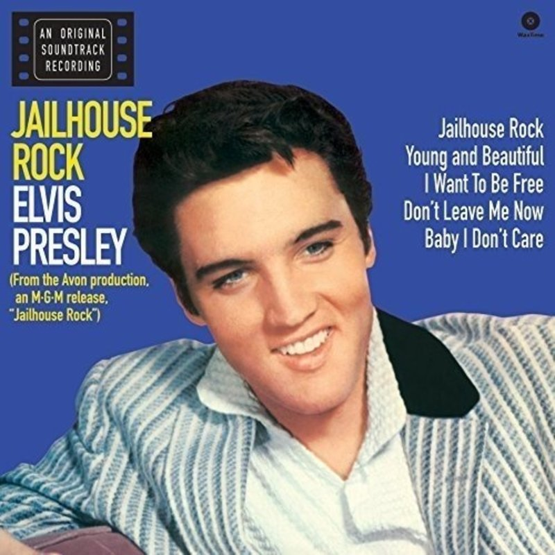 Elvis Presley Jailhouse Rock - 33 RPM Vinyl Wax Time Label