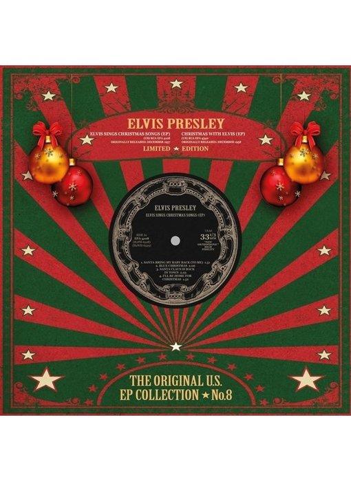 Elvis Presley - The Original U.S. EP Collection No. 8 - Christmas Red Vinyl