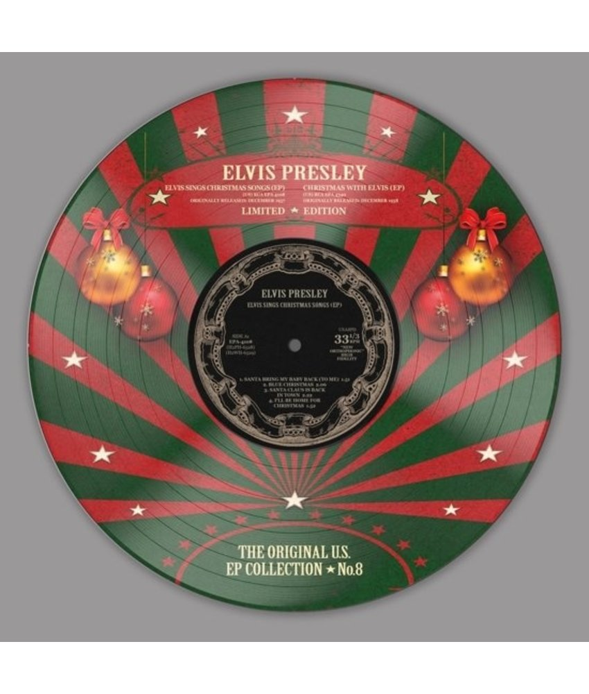Elvis Presley - The Original U.S. EP Collection No. 8 - Christmas Vinyl Picture Disc