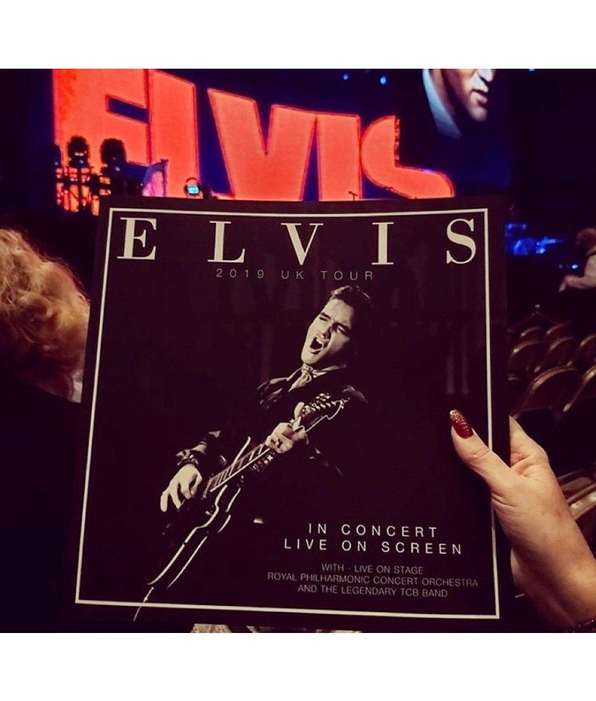 Elvis In Concert Program Book UK Tour 2019