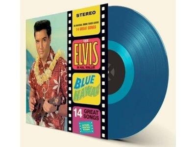 Elvis Presley Blue Hawaii - Blue Vinyl - 33 RPM Vinyl Wax Time Label