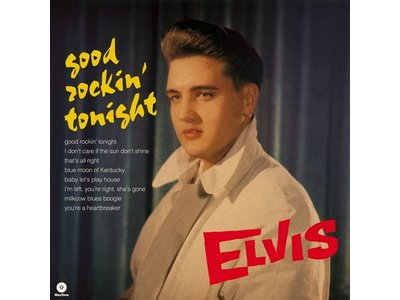 Elvis Presley Good Rockin' Tonight - 33 RPM Vinyl Wax Time Label