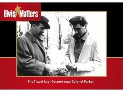 Travel Log, Op Zoek naar Colonel Parker Boek with vinyl single