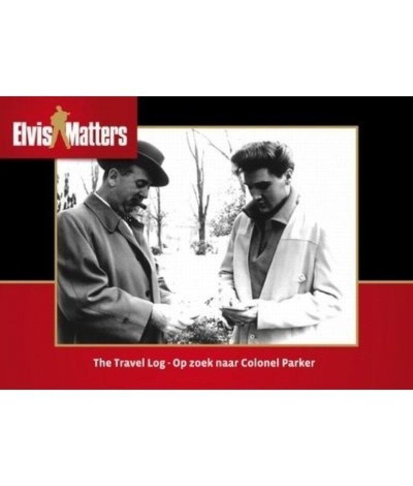 Travel Log, Op Zoek naar Colonel Parker Boek with vinyl single