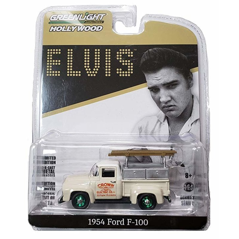 Pick Up Truck 1954 Elvis Crown Electric Ford F-100 - Schaal 1/64