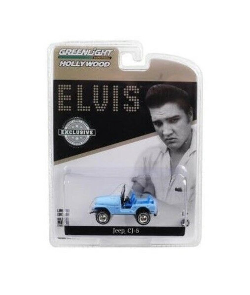Jeep Elvis Tickle Me - Scale 1/64 - Blue