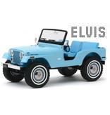 Jeep Elvis Tickle Me - Scale 1/64 - Blue