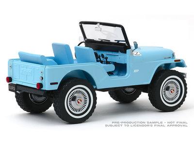 Jeep Elvis Tickle Me - Schaal 1/64 - Blauw