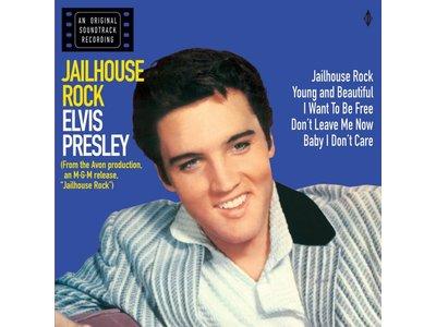 Elvis Presley Jailhouse Rock - Red Vinyl - 33 RPM Vinyl Wax Time Label