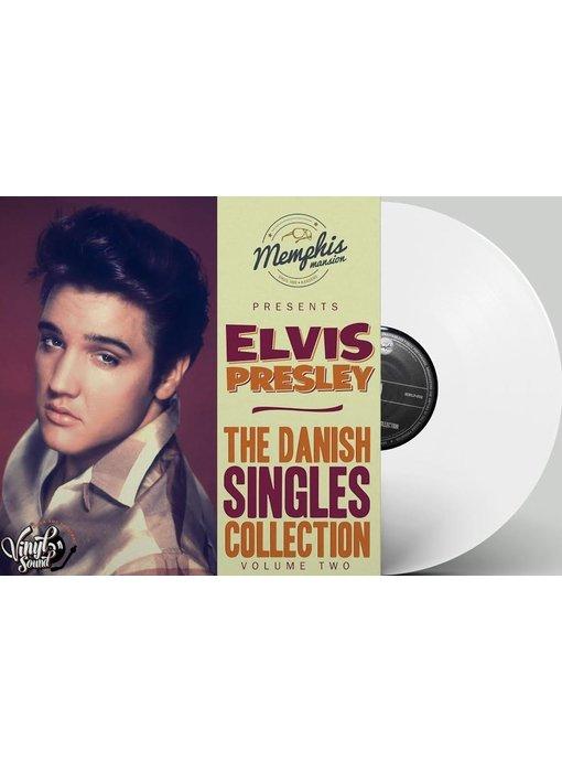 Elvis Presley - The Danish Singles Collection Volume Two - White Vinyl Memphis Mansion Label
