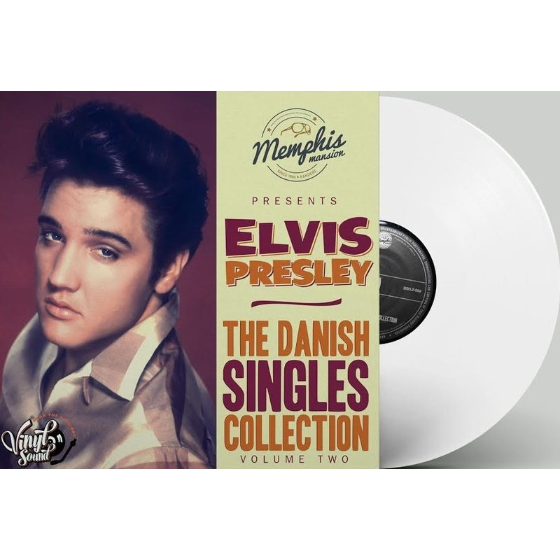Elvis Presley - The Danish Singles Collection Volume Two - White Vinyl Memphis Mansion Label