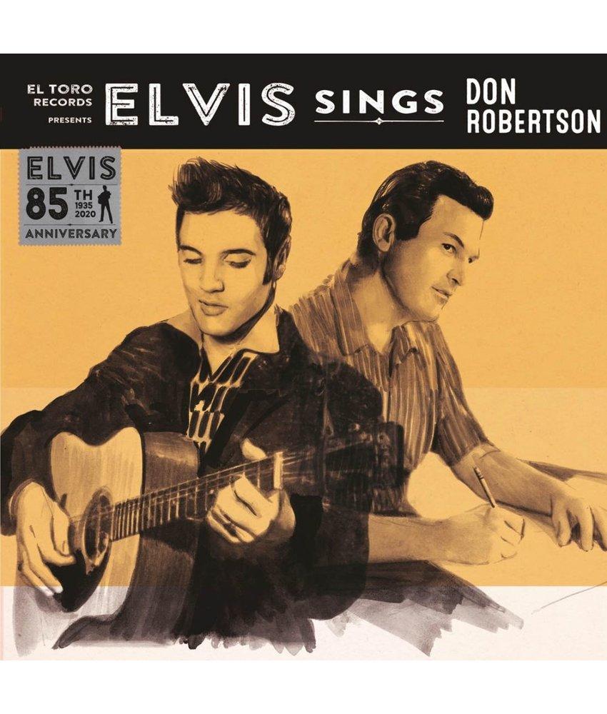 Elvis Sings Don Robertson - El Toro Records - 45 RPM Clear Red Vinyl