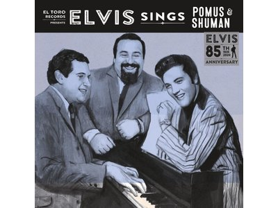 Elvis Sings Pomus & Shuman - El Toro Records - 45 RPM Clear White Vinyl