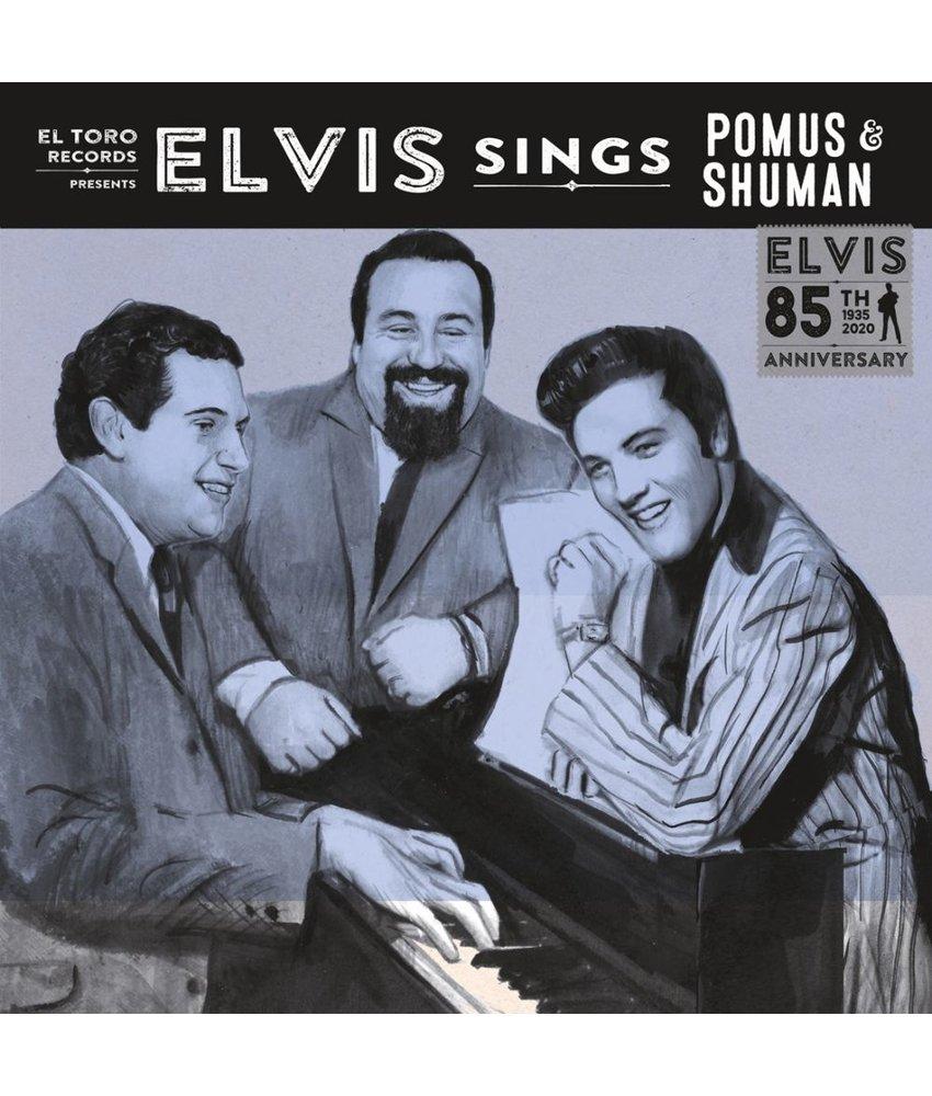 Elvis Sings Pomus & Shuman - El Toro Records - 45 RPM Clear White Vinyl