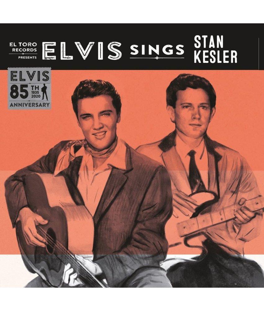 Elvis Sings Stan Kesler - El Toro Records - 45 RPM Clear Yellow Vinyl