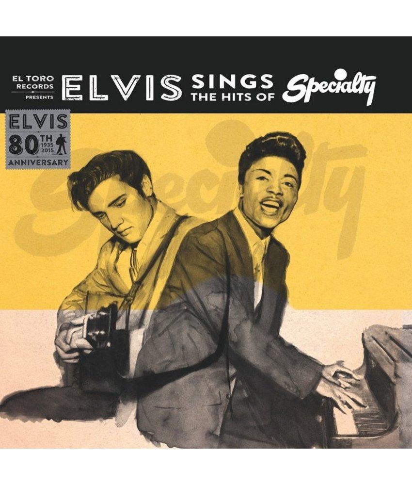 Elvis Sings The Hits Of Specialty - El Toro Records - 45 RPM Dark Blue Vinyl