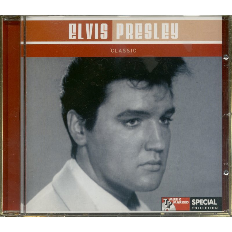 Elvis Presley Classic - TP Musik Marked Special CD Denmark