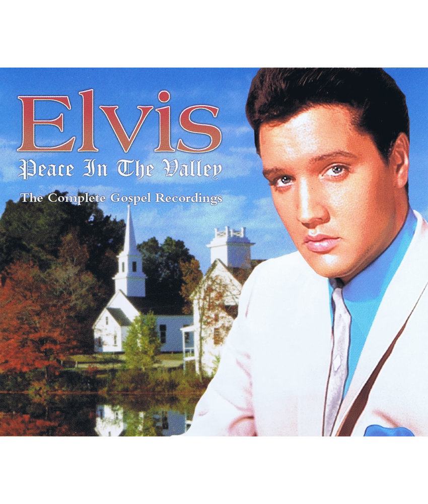 Elvis - Peace In The Valley, The Complete Gospel Recordings - 3 CD Set