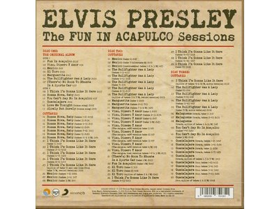 Elvis: The Fun In Acapulco Sessions - FTD - 3 CD Set