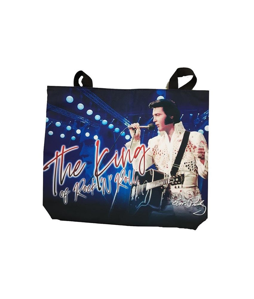 Bag Blue Elvis The King Of Rock 'n Roll - Large