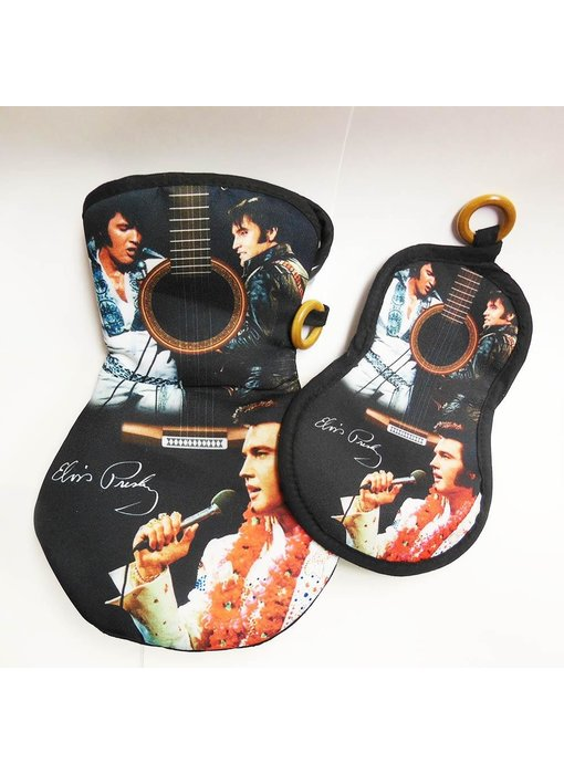 Oven glove - Oven glove Elvis Comeback Special