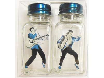Salt and pepper set Elvis Rockin '