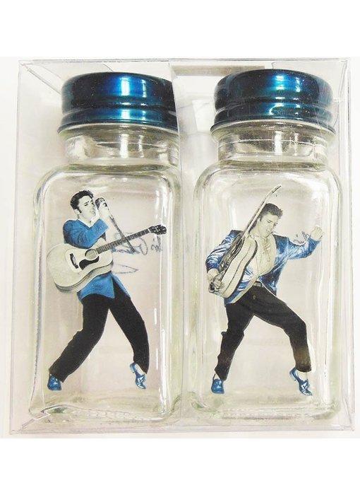 Salt and pepper set Elvis Rockin '