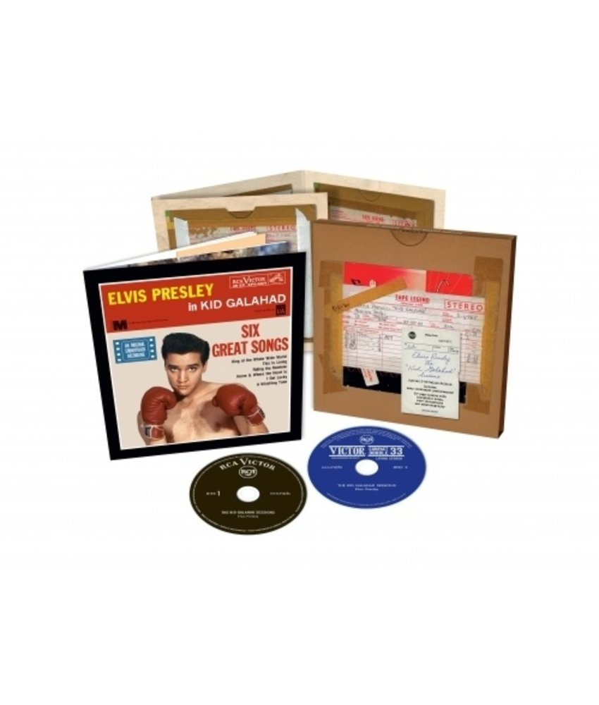 Elvis : The Kid Galahad Sessions - FTD 2-CD Set