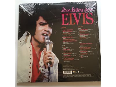 FTD Vinyl - Love Letters From Elvis