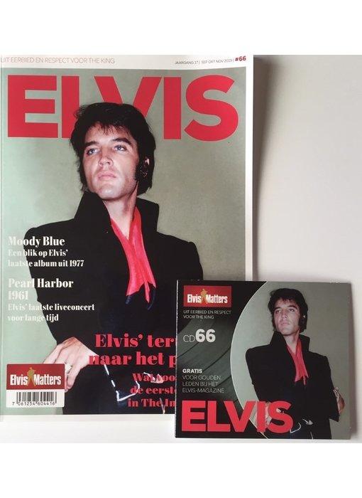 Magazine With CD - ELVIS 66