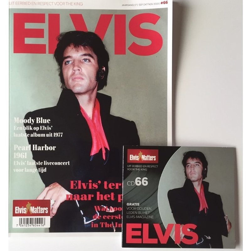 Magazine With CD - ELVIS 66