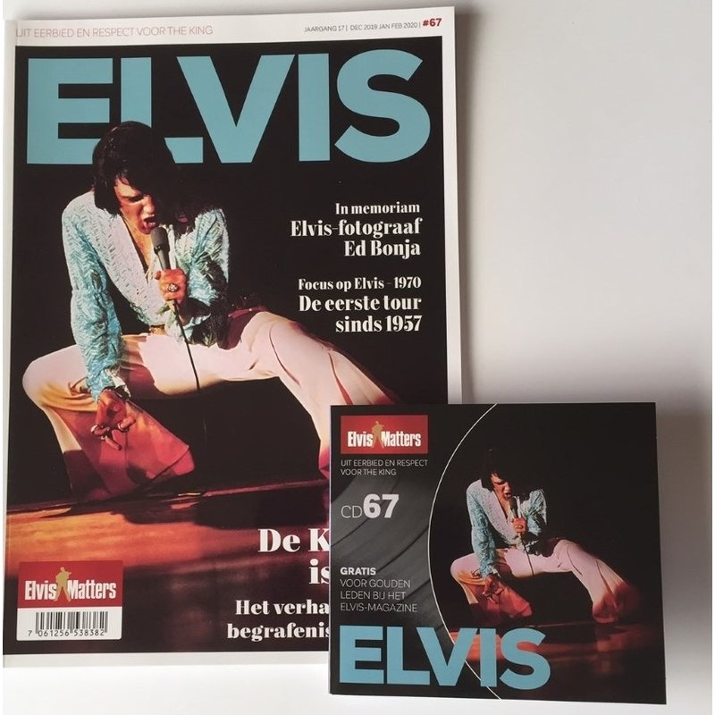Magazine With CD - ELVIS 67